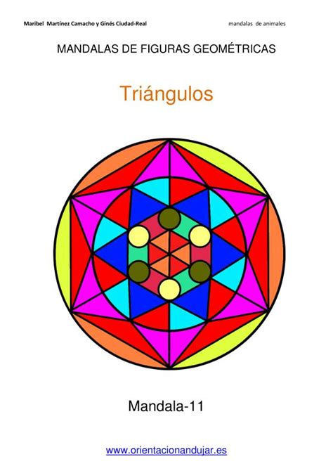 figuras geometricas una por una trabajamos la atenci 243 n con mandalas con figuras