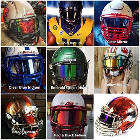 colorful football visors clear iridium football visor les baux de provence