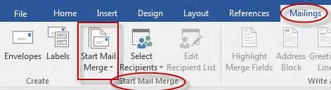 Starting Microsoft Word Tutorial Webucator - how to use mail merge in microsoft word webucator