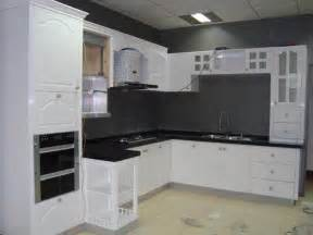 Cabinet Paint White by Antique White Kitchen Cabinets With Black Appliances