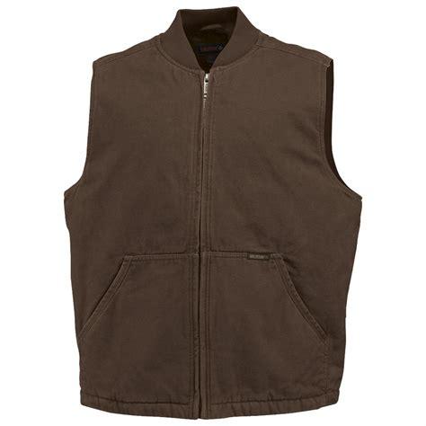 working vest wolverine 174 finley work vest 297372 vests at sportsman s guide