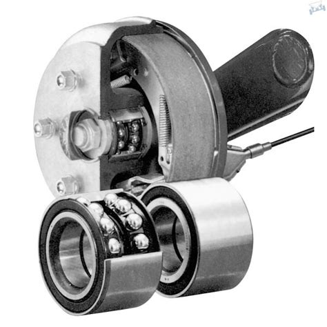 boottrailer wiellagers wiellagerset knott eco 1 800 kg as freewheel boottrailers