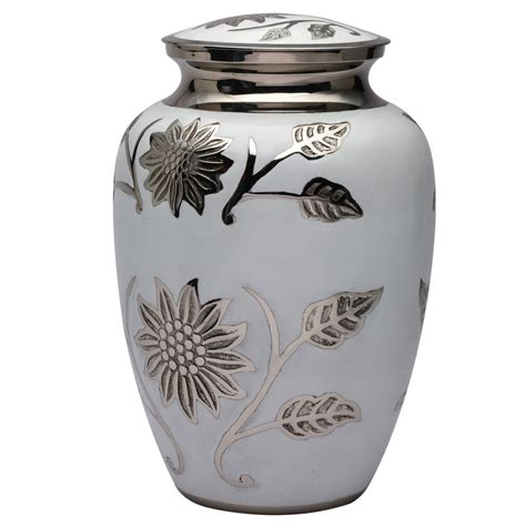 cremation urns big white color hastings memorail urn for human ashes large cremation urn ebay