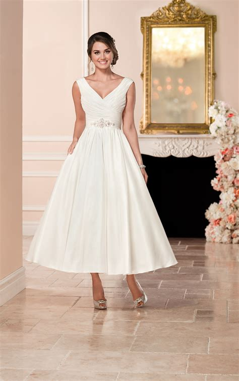 White Rock Wedding Dresses by Satin Wedding Dress Stella York