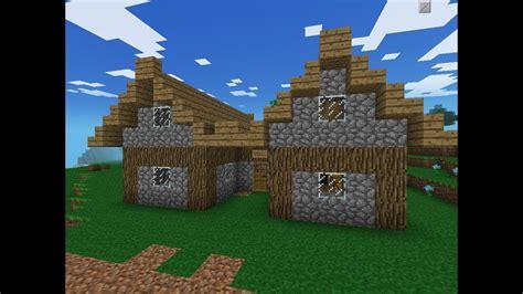 minecraft pe big storage houseshed  youtube