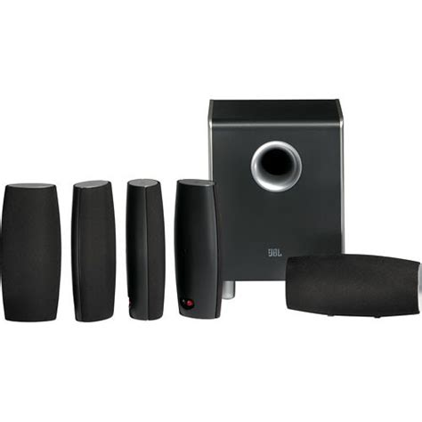 jbl cinema sound cs6100 5 1 home theater speaker system