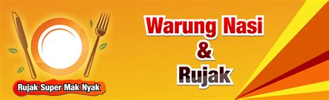desain banner warung makan download gratis background spanduk dengan coreldraw joy