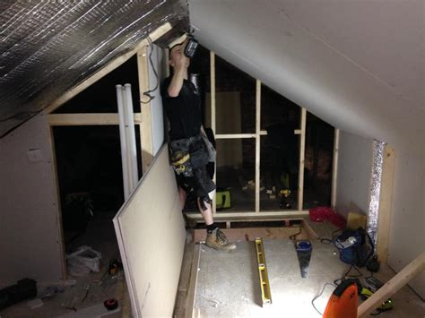 Low Ceiling Loft Conversion by Mini Loft Conversion Home Office Chill Out Hobby Study Room