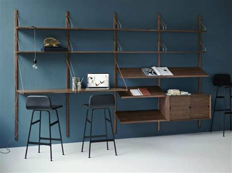Wall Mounted Desk System by Best Wall Mounted Desk Designs For Small Homes