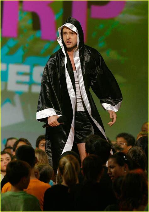 Justin Timberlake Wore Boxers 2007 Choice Awards by Justin Timberlake In Boxer S Shorts Photo 2413792