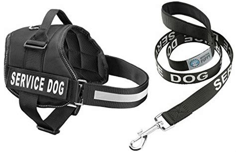 service leash service harness matching leash set available in 7 sizes from small to