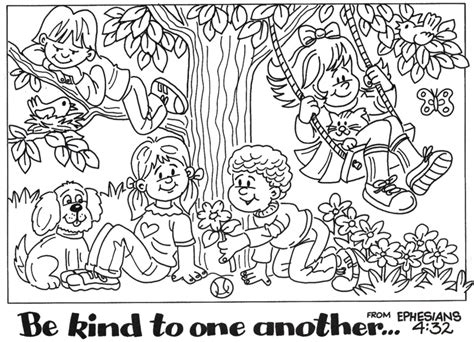 kind words coloring page bible coloring pages friendship printables and