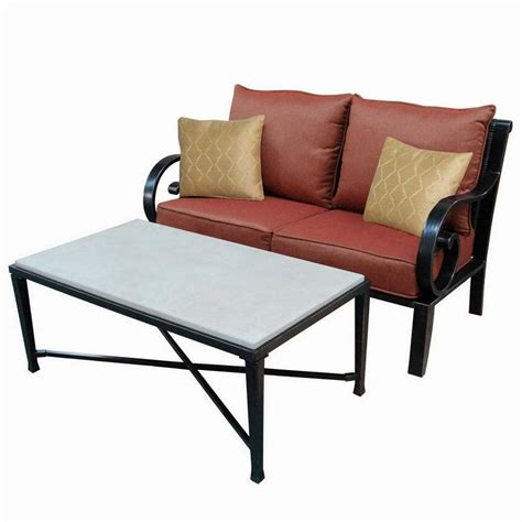 shop allen roth carrinbridge set shop allen roth pardini 2 aluminum patio