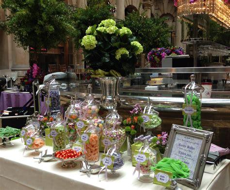 green buffet green and liliac wedding buffet buffets l