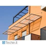 tettoie per porte d ingresso tettoie ingresso mod su misura tettoie plexiglass