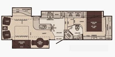 carriage rv floor plans 2011 cameo by carriage lxi fifth wheel series m 37cksls