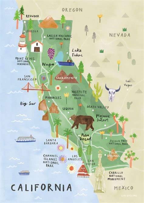 map of california coast los angeles to san francisco 25 best ideas about west coast on west coast