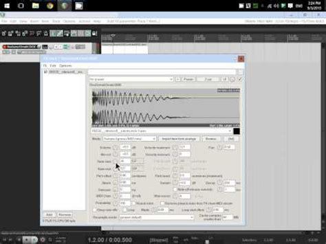 drum machine tutorial youtube reaper tutorial reaslomatic5000 sler drum machine