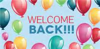 welcome back template events signs templates signs