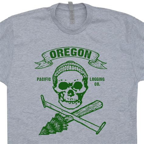 Tshirt Oregon oregon t shirt vintage lumberjack t shirt carpenter t