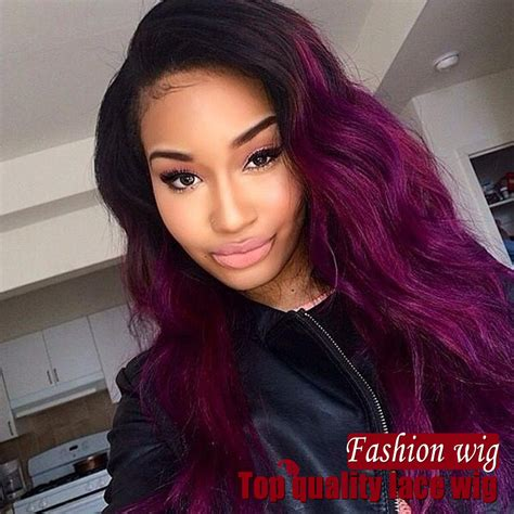black hairstyles weave on for summerblack and purple purple hair on black women www pixshark com images
