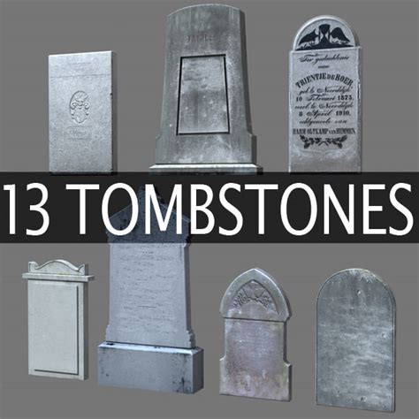 diy tombstone templates 13 stones tombstones c4d