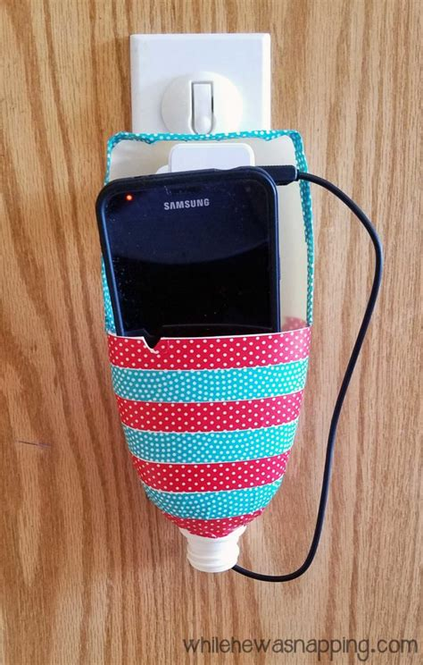 Diy Wireless Phone Charging Station | diy cell phone charging station while he was napping