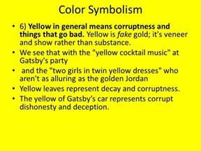 what color does yellow represent color symbolism 1 gray is the color for dreariness ppt