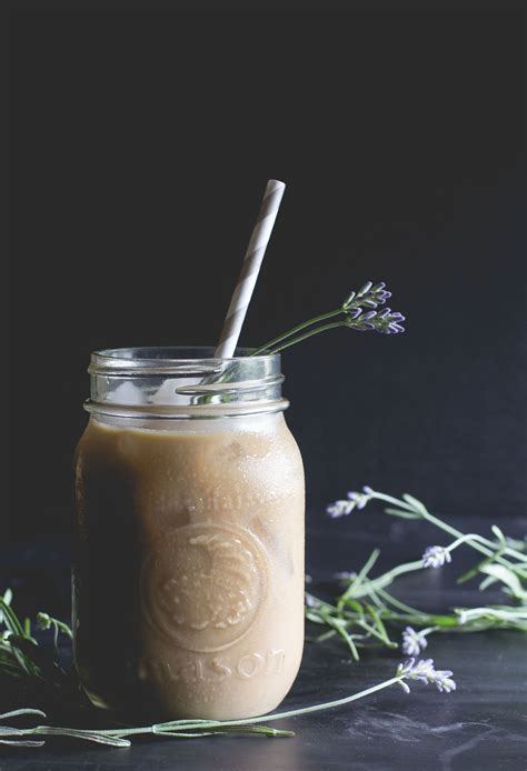 Honey Chestnut Latte Iced 12 floral beverages you can make this iced latte latte and lavender