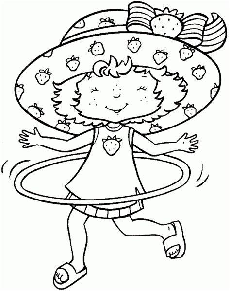 dibujos de niños jugando ula ula tarta de fresa jugando con un hula hoop hd dibujoswiki com