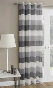 ready made net curtains mykonos striped voile curtain panel ready made net curtain
