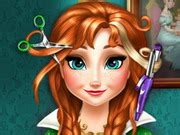 haircut games on mafa anna frozen real haircuts play the girl game online