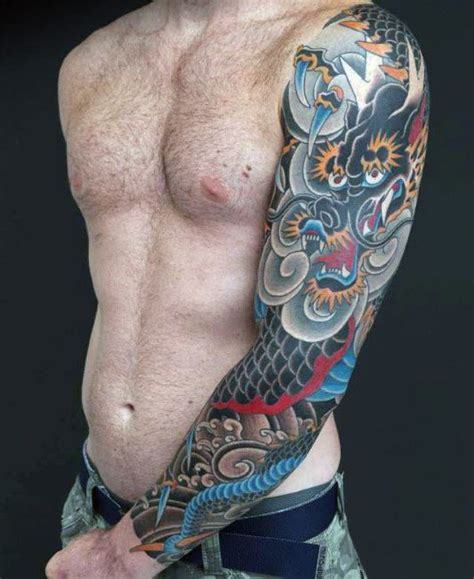 70 dragon arm tattoo designs for men fire 100 sleeve designs for breathing