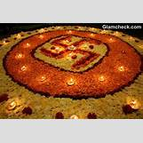 Rangoli Designs With Flowers And Colours   580 x 387 jpeg 47kB