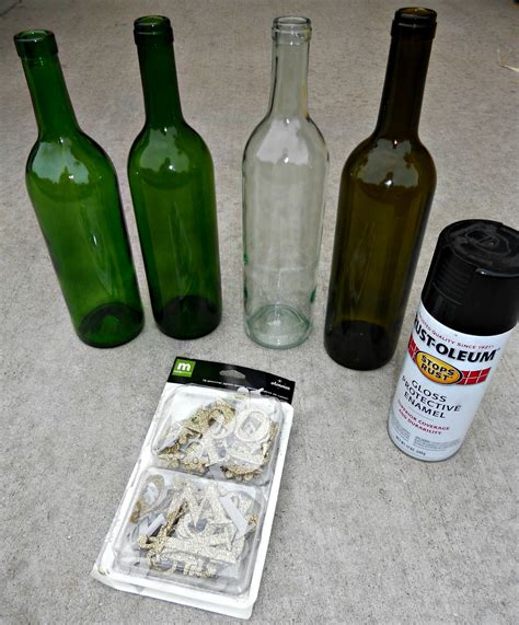 wine bottle crafts crazylou recycled wine bottle craft