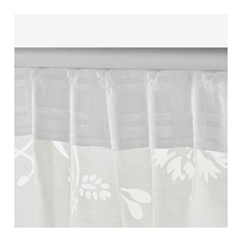 Ikea Sheer Curtains Borghild Sheer Curtains 1 Pair White 145x300 Cm Ikea
