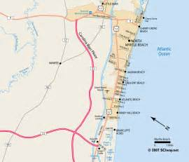 myrtle south carolina printable map