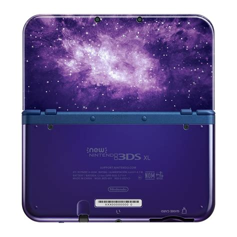 New 3ds Xl nintendo s new galaxy themed 3ds xl has a truly name slashgear