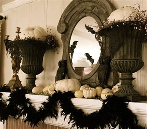 elegant halloween home decor 70 ideas for elegant black and white halloween decor