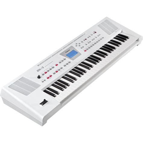 roland bk  backing keyboard white bk  wh bh photo video