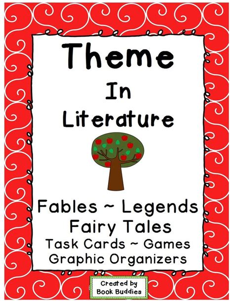 theme in literature song theme in literature songs literature and task cards