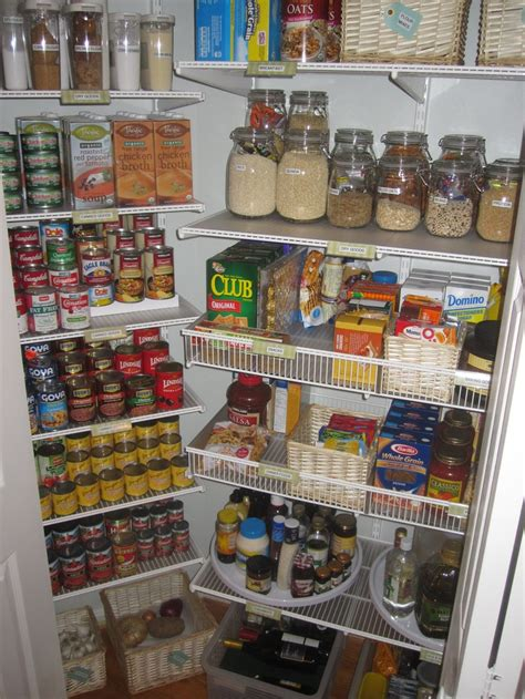 kitchen shelving ideas pinterest pantry organization organized elfa pantry tcs elfa pinterest a well the shape and