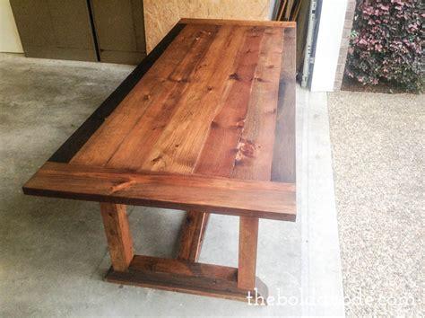 Diy Pete Farmhouse Table by Outdoor Farmhouse Table Plans