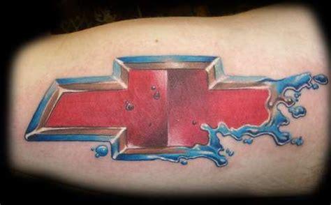 chevy ford tattoos 500 chevy bow tie tattoo mwtmk