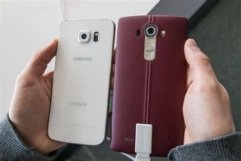 lg g4 vs samsung galaxy s6 and galaxy s6 edge lg g4 vs galaxy s6 in depth comparison which is best