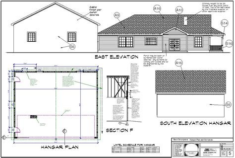 hangar house plans home design and style