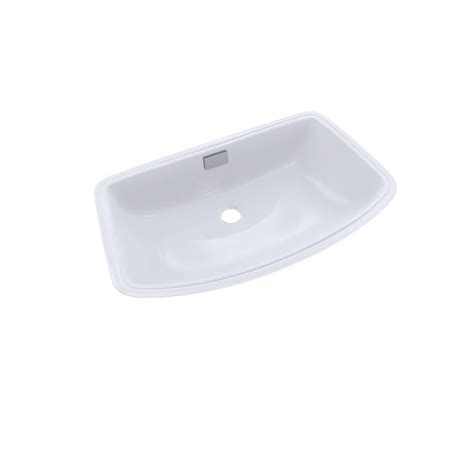 toto undermount bathroom sink toto soiree 25 in undermount bathroom sink in cotton