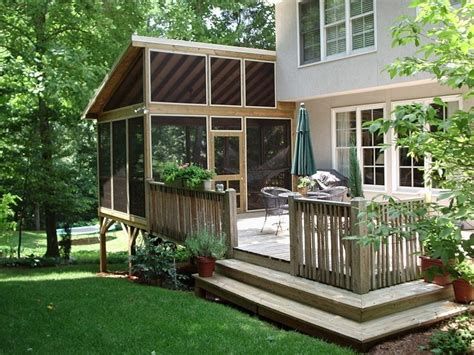 Screen Rooms For Decks Kits by 25 Best Ideas About Screen Porch Kits On