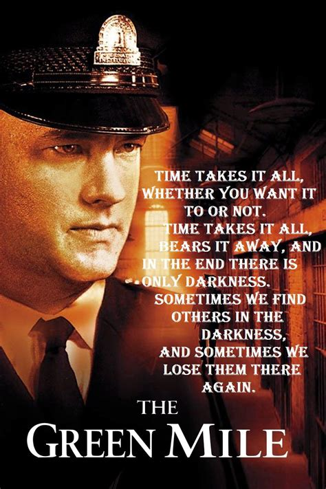 Mile Quotes the green mile quotes quotesgram
