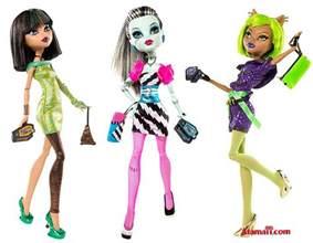 spring 2011 monster toys dawn dance doll assortment monster dolls